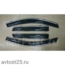 Ветровики Mitsubishi RVR 2008 +