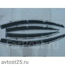 Ветровики Mazda Axela 2009+