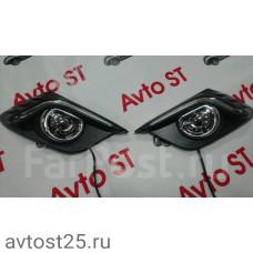 Дневные ходовые огни Mazda Axela 2013+