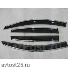 Ветровики на двери Honda CR-V 2006-2011