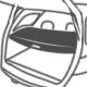 Шторка багажника