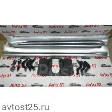 Подножки Lexus LX570 2008 + (URJ201, URJ201W, URJ202)