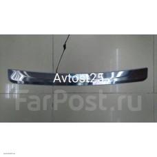 Накладка на задний бампер с подсветкой Toyota Prius 30, 2009+ ( ZVW30, ZVW30L, ZVW35)