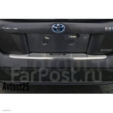 Накладка на бампер Toyota Prius 50, 2015+ (ZVW50, ZVW50L, ZVW51, ZVW55)