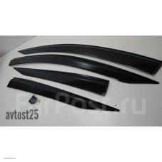 Ветровики на двери Toyota Prius 2015+ (ZVW50, ZVW50L, ZVW51, ZVW55)