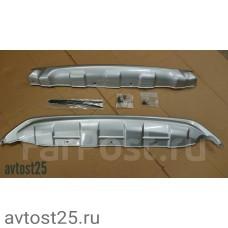 Защита бампера Honda Vezel 2013+